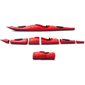 Pakayak Bluefin 14 Packable Kayak chili